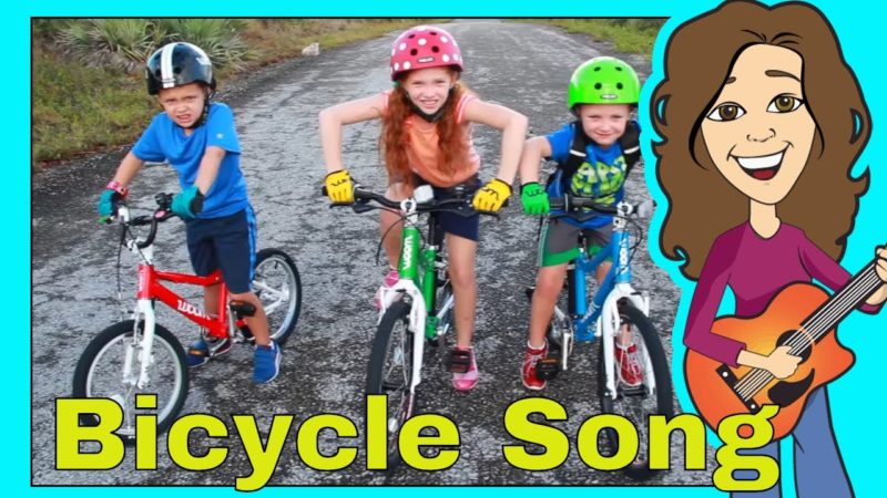 Bicycle Song for Children | My Bicycle | Bike Song for kids | Patty Shukla