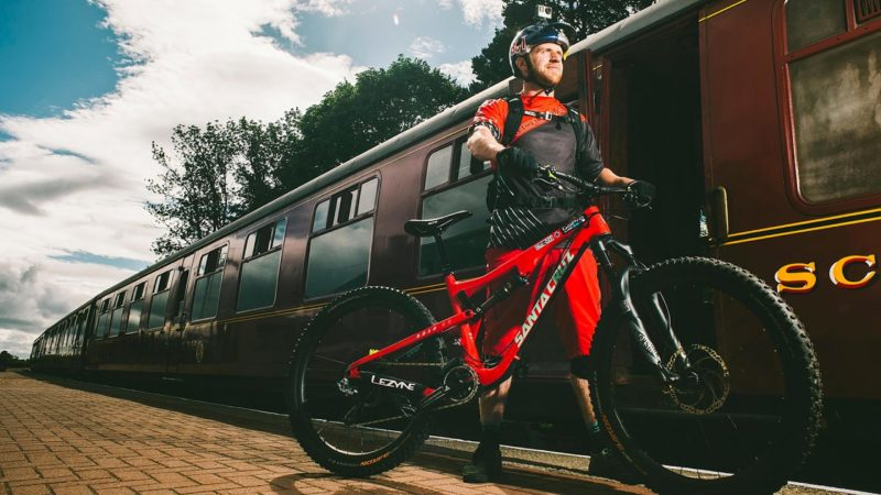 Bike Check: Danny MacAskill's Santa Cruz 5010 CC Mountain Bike