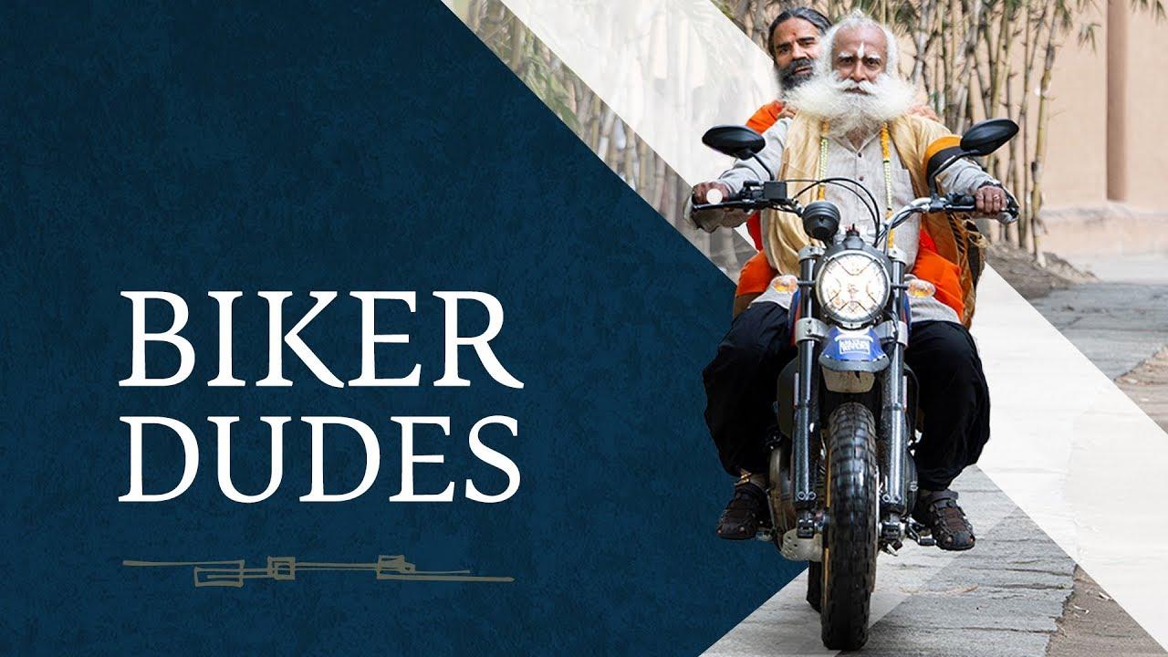 Biker Dudes – Sadhguru & Baba Ramdev