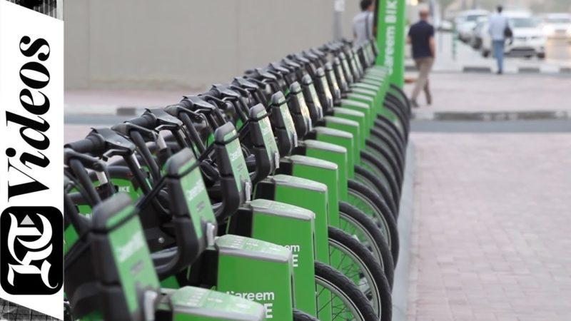Have you tried Dubai's new rent-a-bike service?