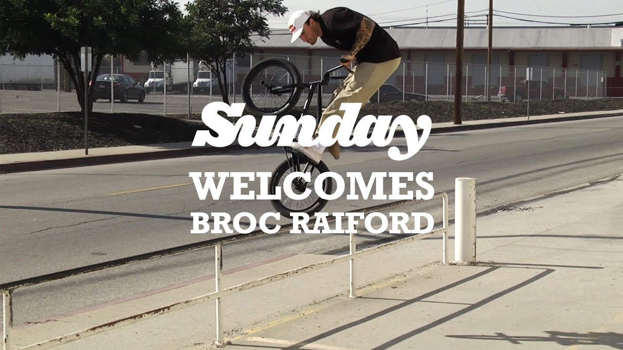 BROC RAIFORD | Sunday Bikes – Welcome to the Pro Team