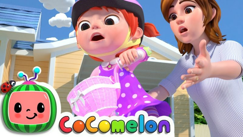 You Can Ride a Bike | CoComelon Nursery Rhymes & Kids Songs