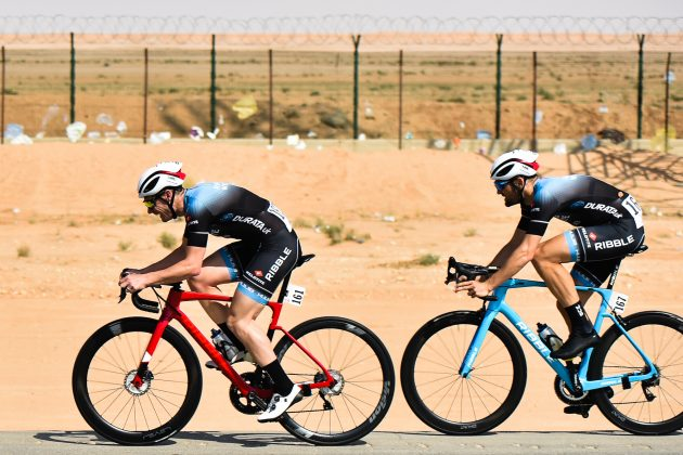 British rider Steve Lampier hospitalised after van pulled out on him