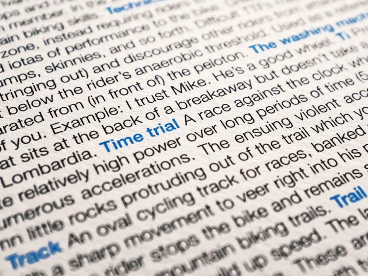100Copies CYCLINGO takes apart the cycling lingo that brings us together