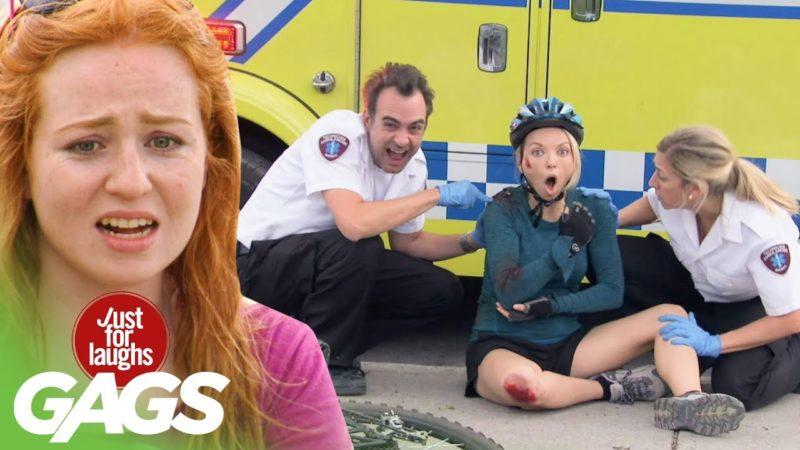 Paramedics Bully Injured Biker