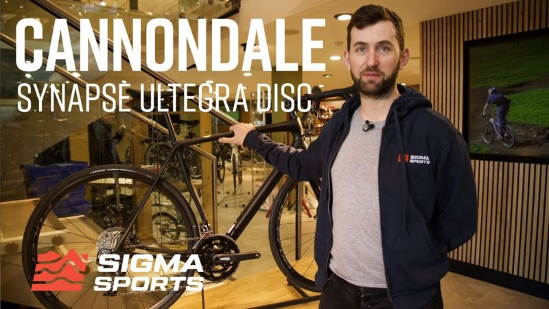 A Closer Look At the Cannondale Synapse Carbon Ultegra Disc Road Bike | Sigma Sports
