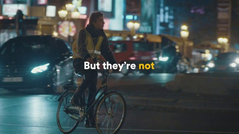 Discover the first Bike Light Lane