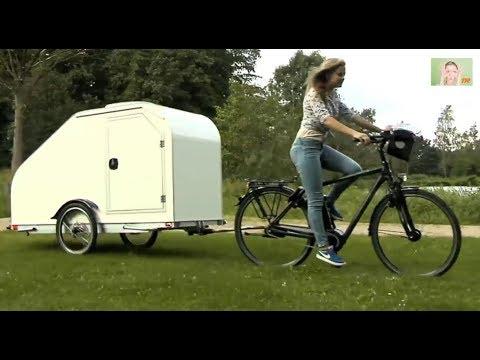 CAMPER BIKE –  La caravane pour les campeurs cyclistes