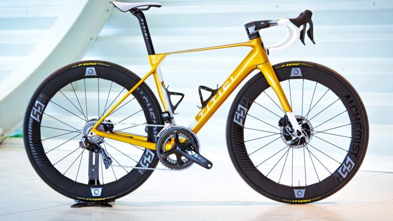 Updated Titici F-RI02 aero road bike is faster & lighter than ever, still with Flexy comfort