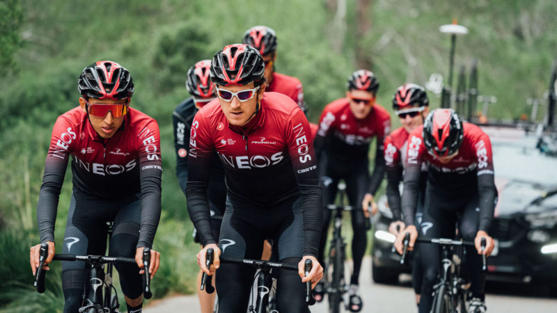 Team Ineos riders set for Zwift race re-match this weekend