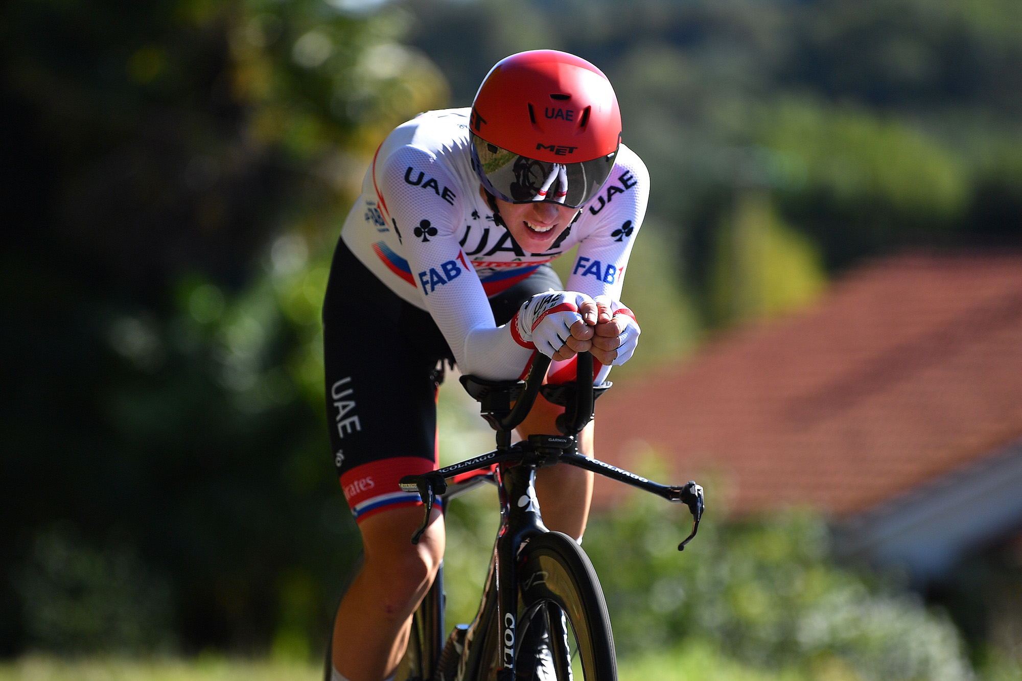 Tadej Pogacar Beats Primoz Roglic To Slovenian Time Trial Title Swiss Cycles