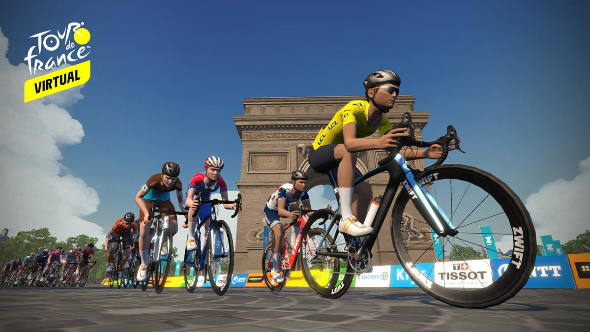Tour de France goes virtual, Zwift to host pro races + Virtual l'Etape du Tour with new maps