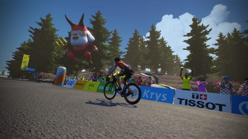 Ashleigh Moolman-Pasio takes Ventoux victory on stage five of women's virtual Tour de France
