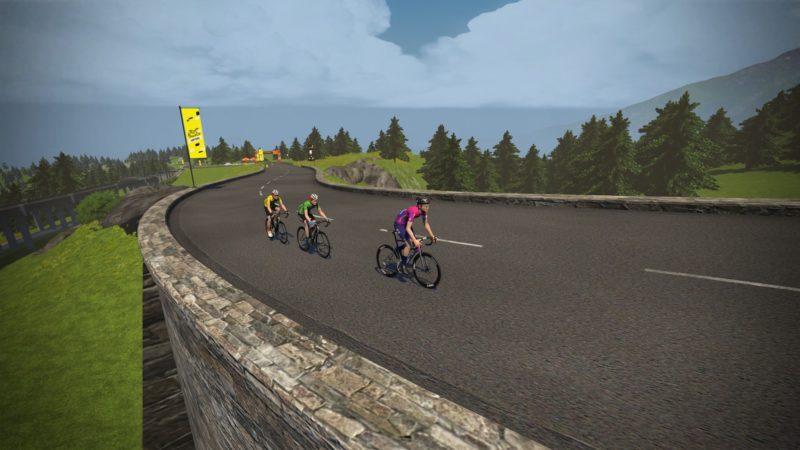 Michael Woods dominates on Mont Ventoux in men's virtual Tour de France stage five