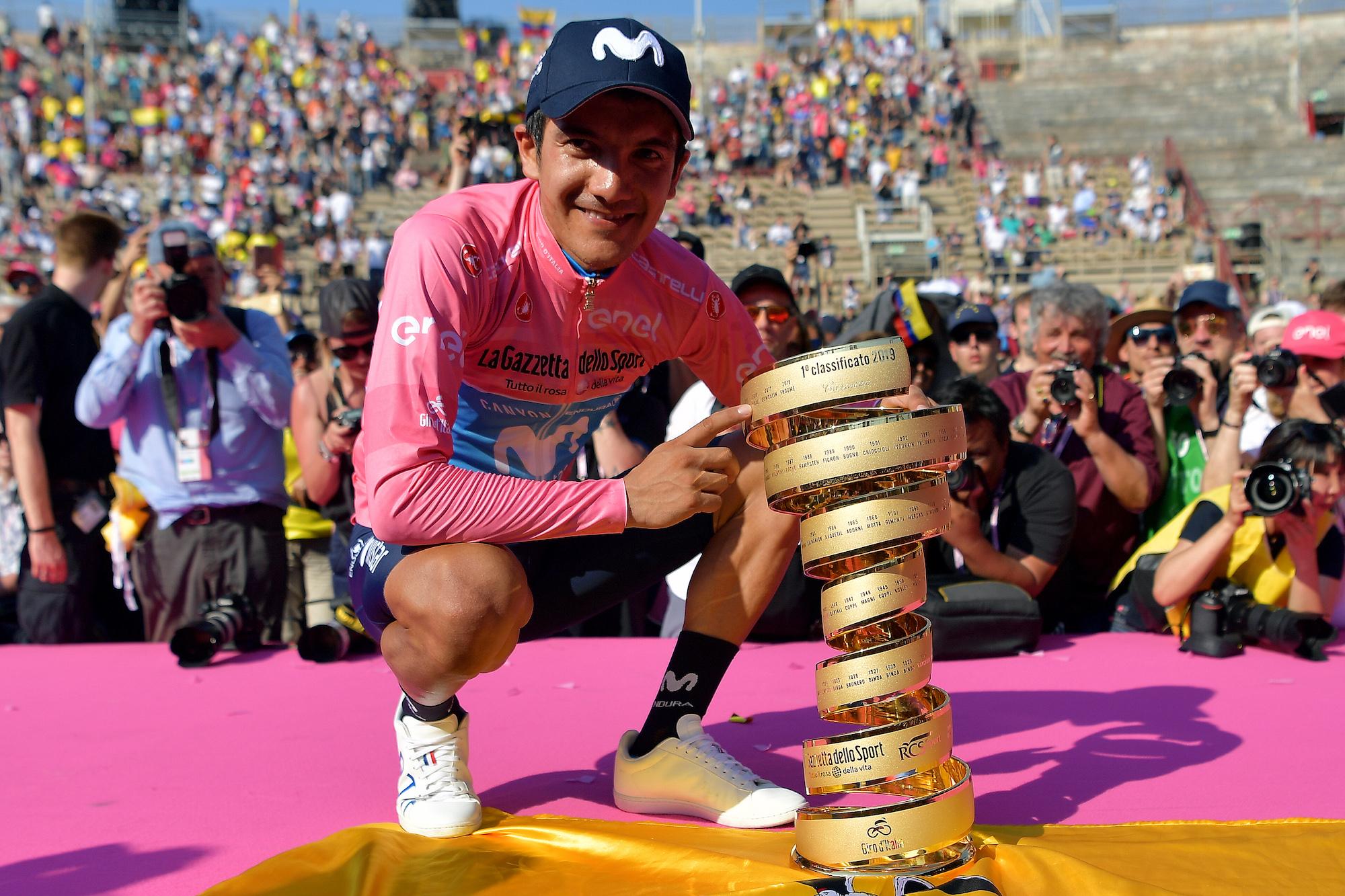 Camisetas del Giro d'Italia: rosa, morado, azul y blanco explicado