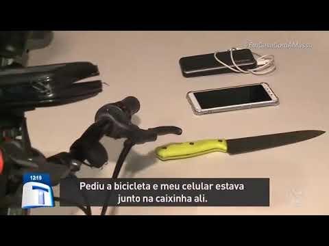 Entregador tem bike e celular roubados em assalto – Tribuna da Massa (30/07/2020)