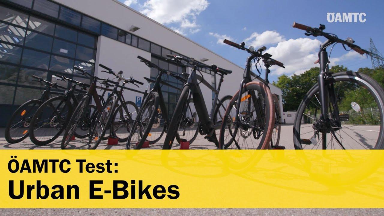 8 Urban E-Bikes im ÖAMTC-Test 2020  | ÖAMTC