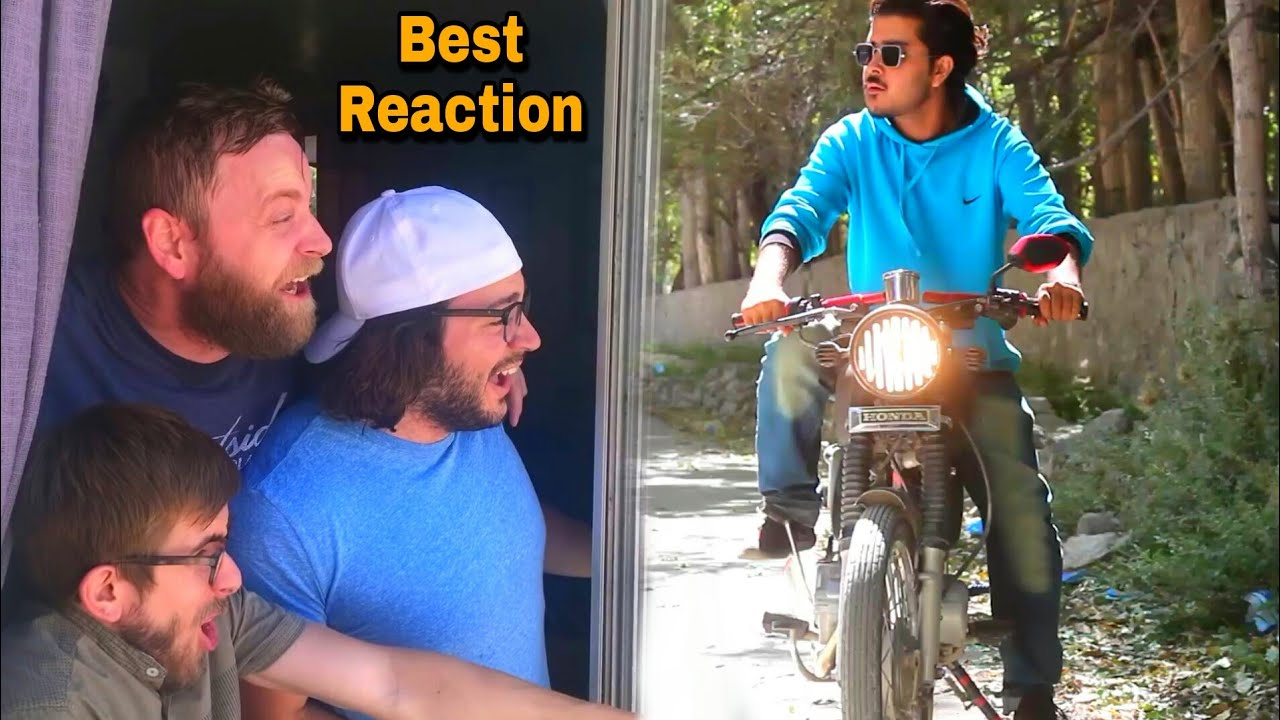 How Bikers Think People Will React To Them.. (HaShmi BhAi)