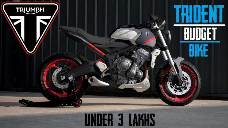 Triumph Trident – the best Budget bike from Triumph || Under 3 Lakhs || Explorers