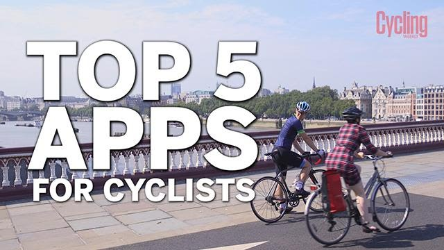 Top five smartphone apps for cyclists
