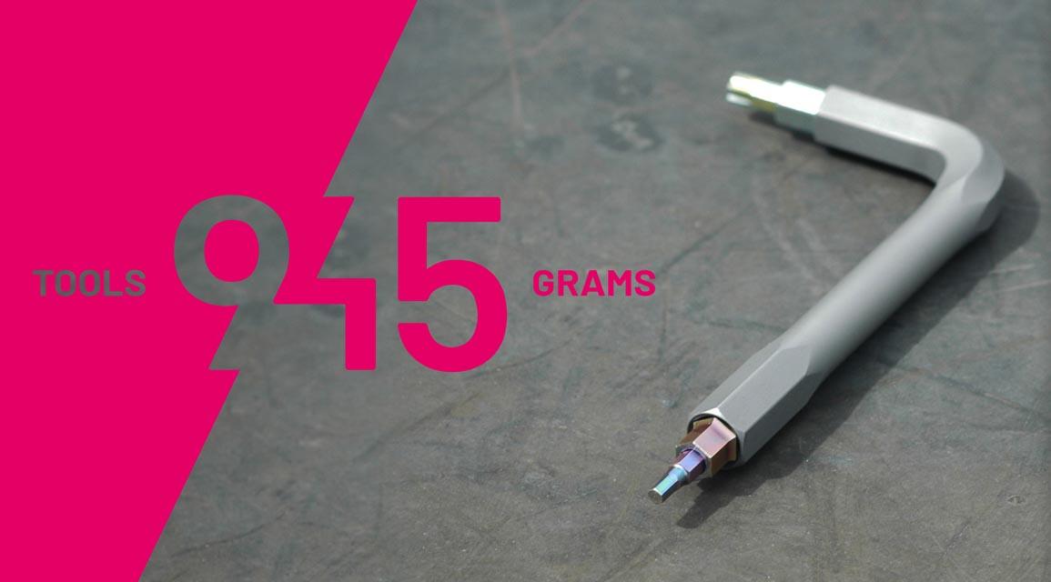 Et 45 gram multifunktionsværktøj med ni funktioner?  PB Swiss-made Daysaver er super let og kompakt