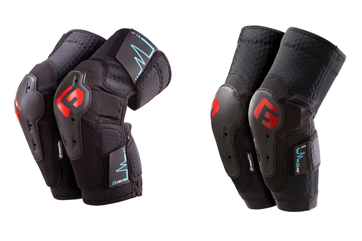 Il nuovo gomito G-Form E-Line, le ginocchiere portano tutto ciò che vuoi proteggere