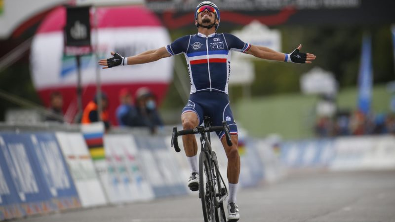 Julian Alaphilippe wins the elite men's world road title: Daily News Digest