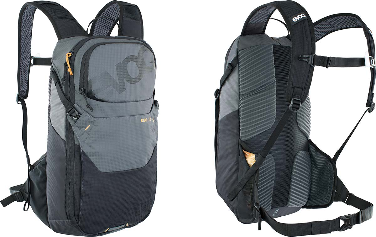Las mochilas EVOC Ride para MTB incorporan paquetes útiles de 8L, 12L y 16L