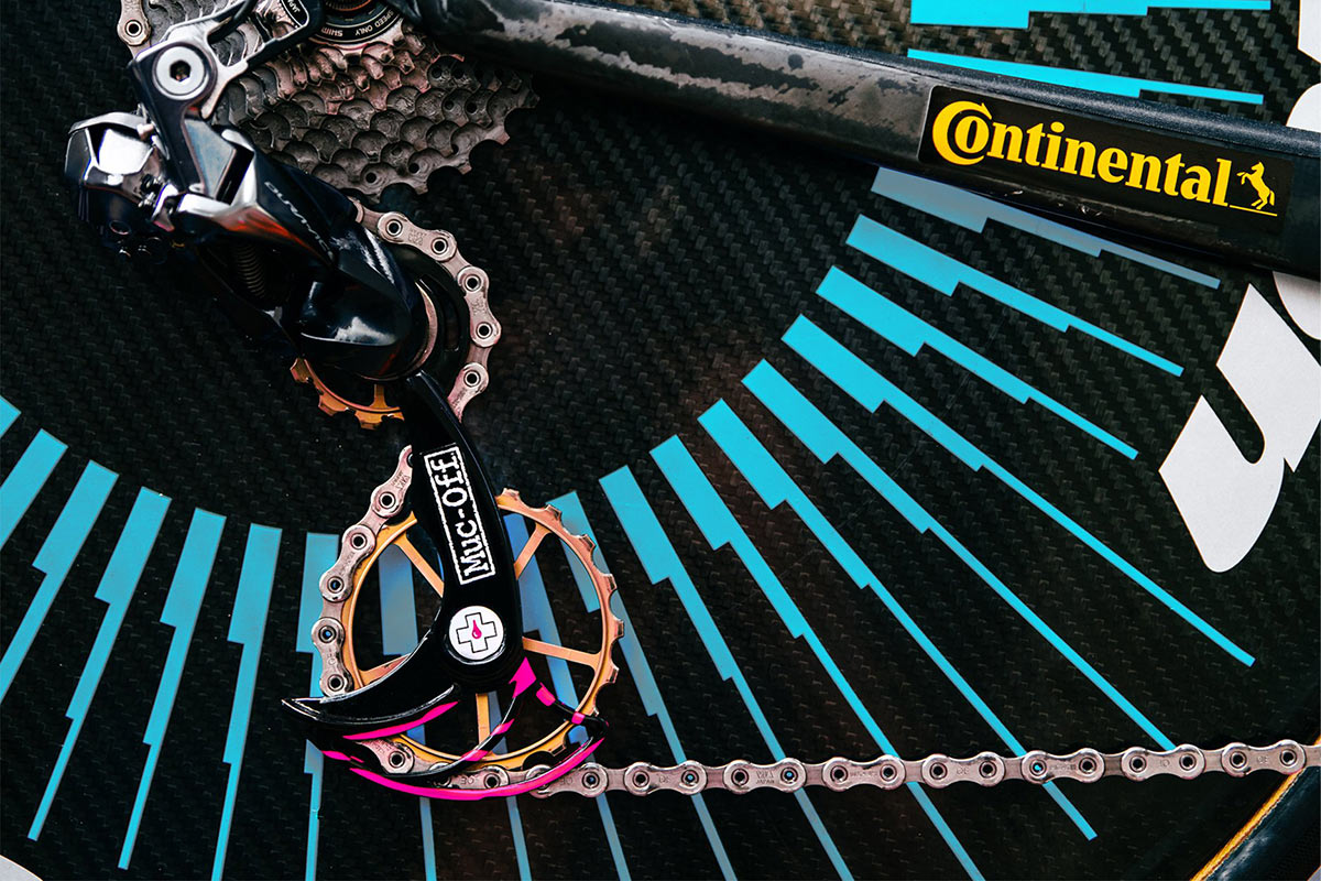 Muc-Off officially launches lightweight, oversize, insanely optimized derailleur pulley cages