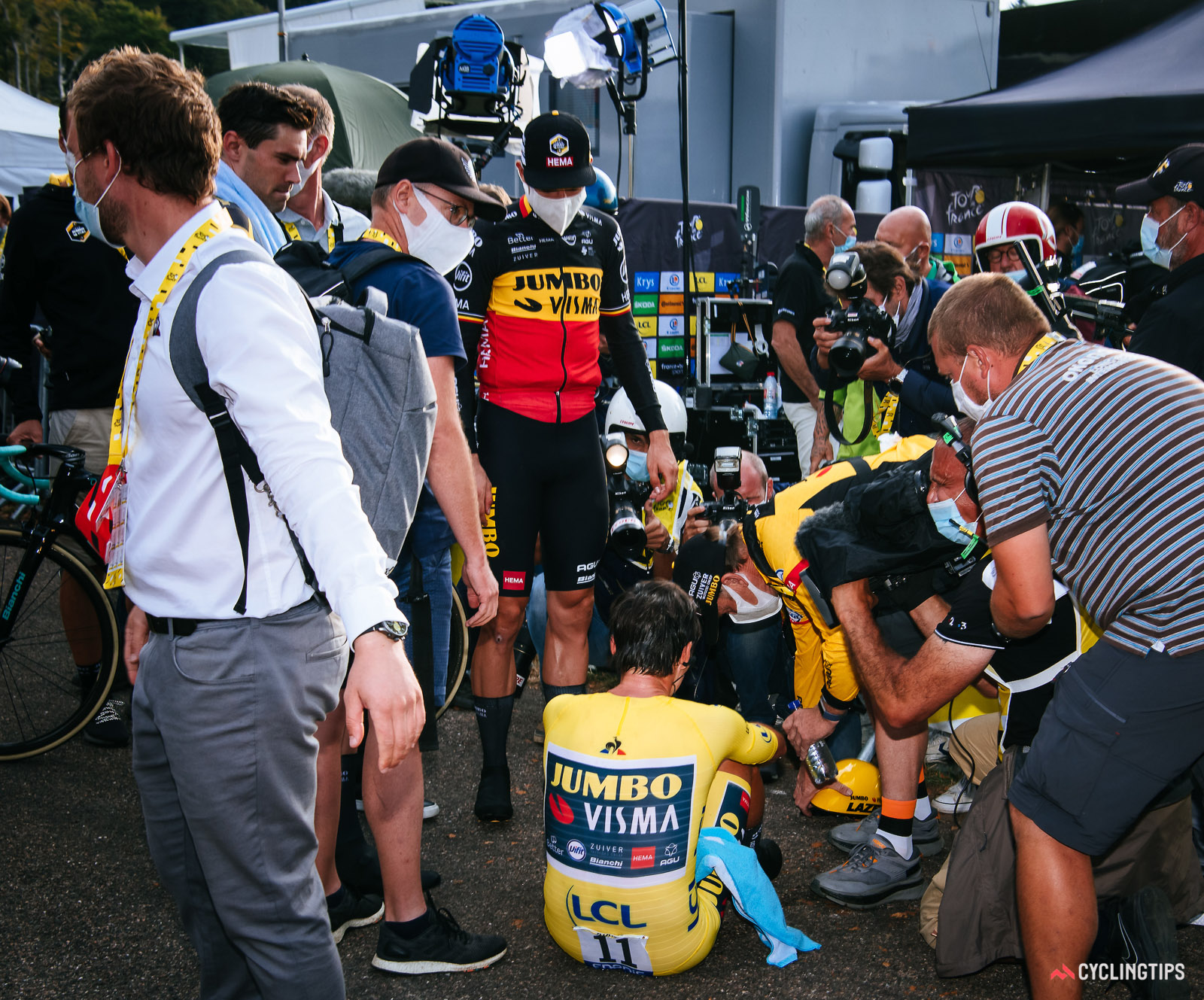 What do you say to someone who just lost the Tour de France?