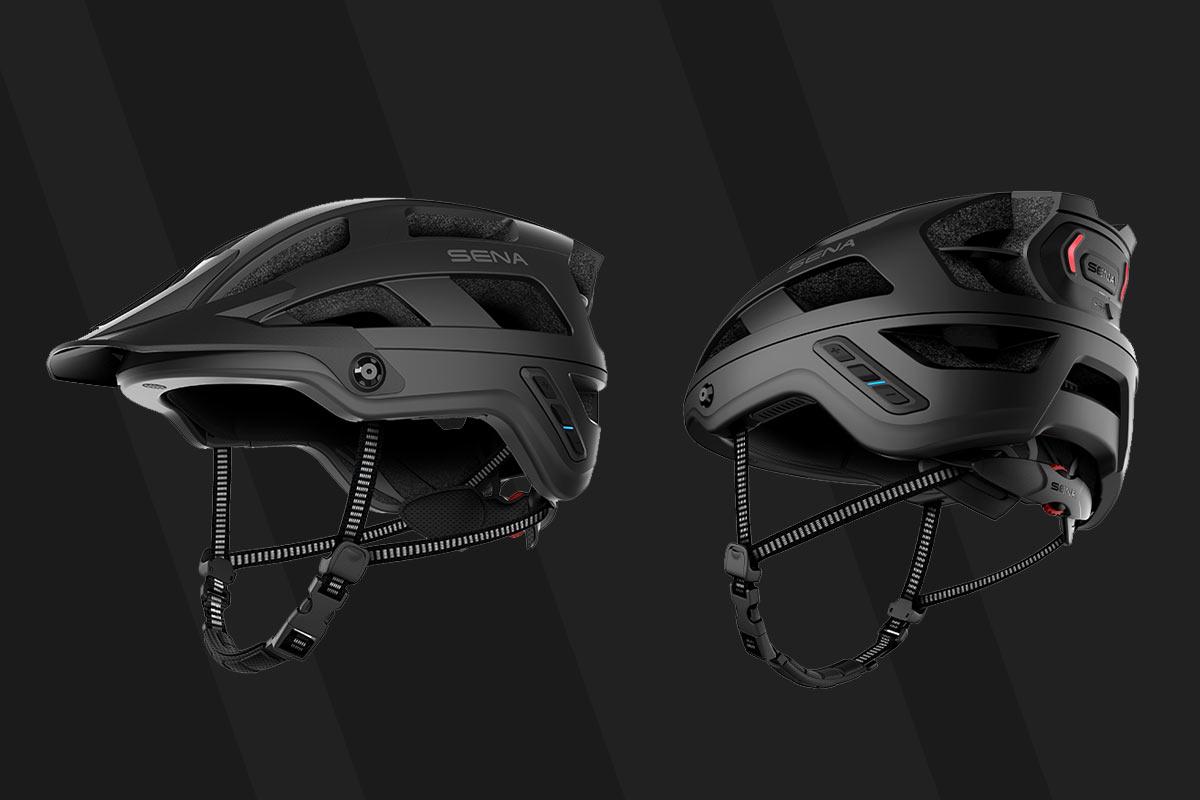 Les nouveaux casques de vélo de montagne Sena M1 bénéficient d'une communication sans fil à l'épreuve des forêts, plus