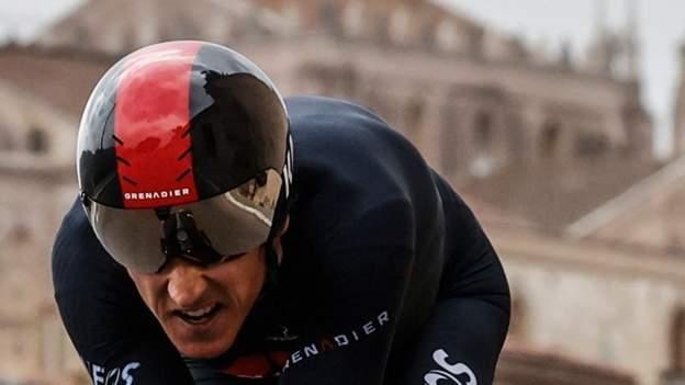 Geraint Thomas guida Simon Yates di 26 secondi mentre Filippo Ganna guida il Giro d'Italia