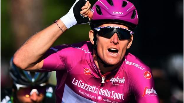 Giro de Italia: Arnaud Demare gana la segunda etapa consecutiva en el sprint final