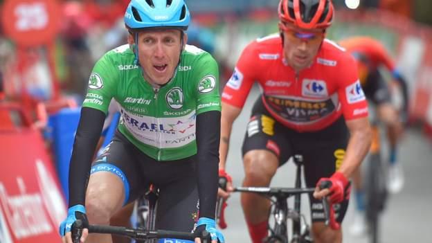 Vuelta a Espana: Daniel Martin gewinnt die dritte Etappe, um die Führung von Primoz Roglic zu verkürzen