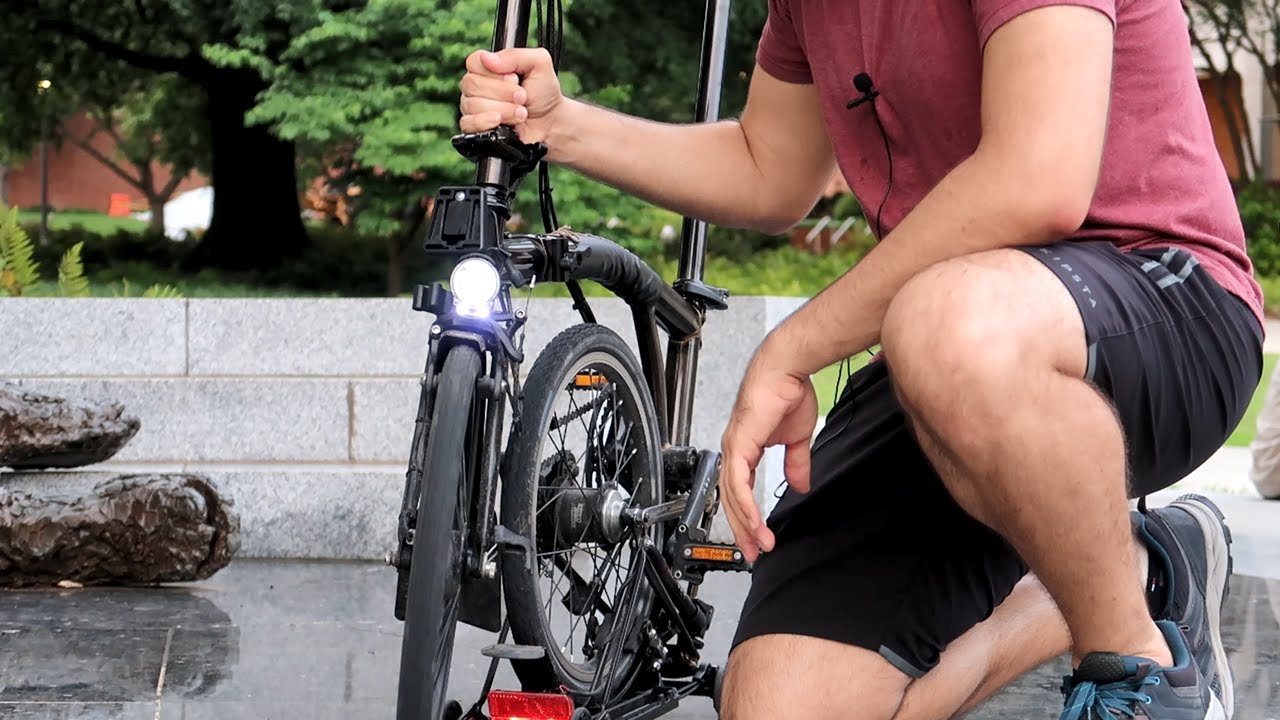 The 3 BEST upgrades and accessories on my Brompton | Folding bike