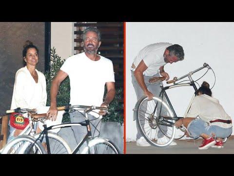 Brooke Burke's Bike Chain Pops After Celebrating Divorce Finalization