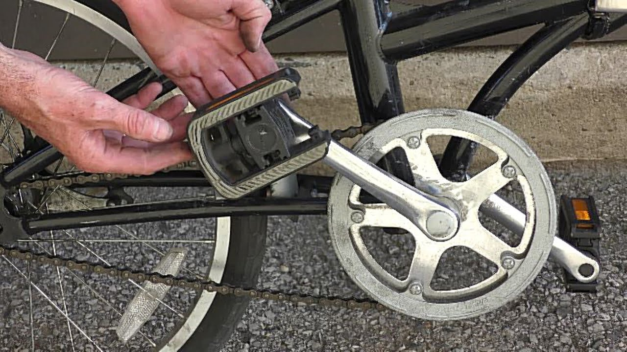 Changing Bike Pedals Quick Fix
