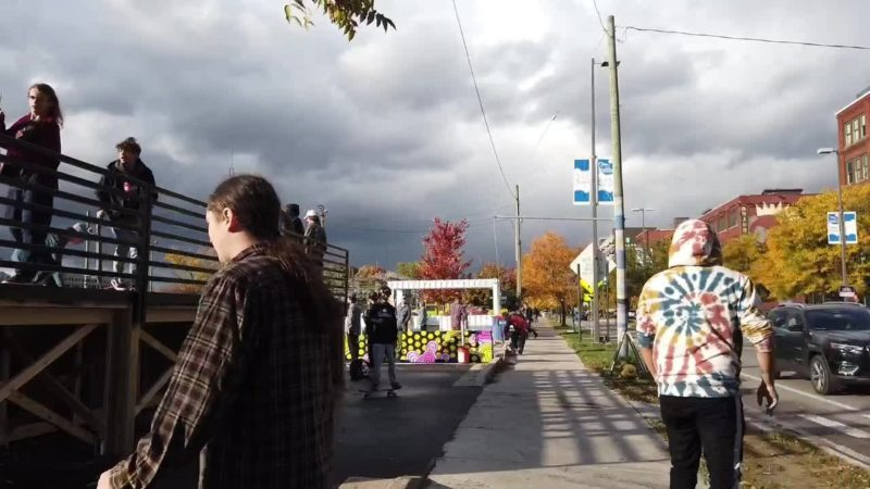 'Craved for years,' Grand Rapids' first downtown bike and skate park opens
