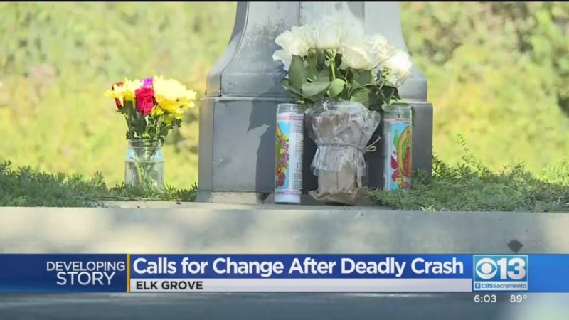 Family Of Elk Grove Boy Killed On Bike Calls For Change At 'Dangerous Intersection'