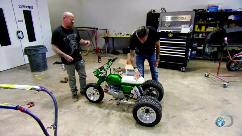 Gas Monkey Bike Build Off | Fast N' Loud