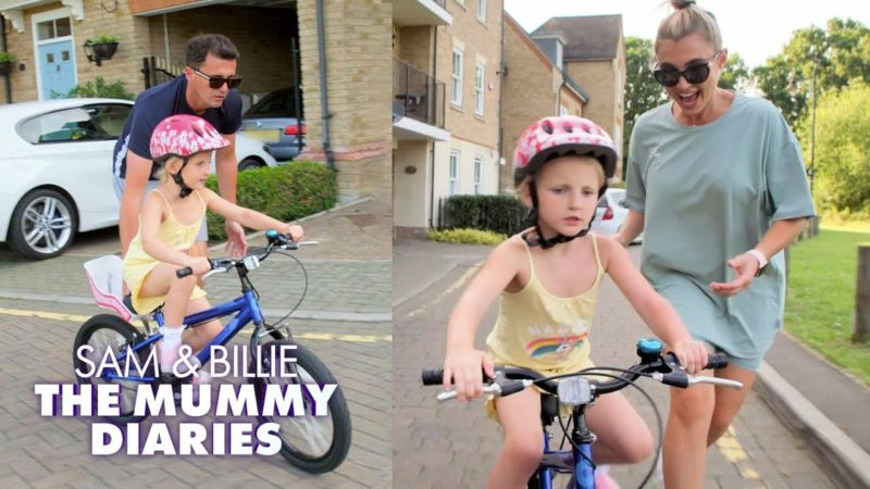 Nelly Learns How to Ride a Bike 🚴‍♀️  | The Mummy Diaries