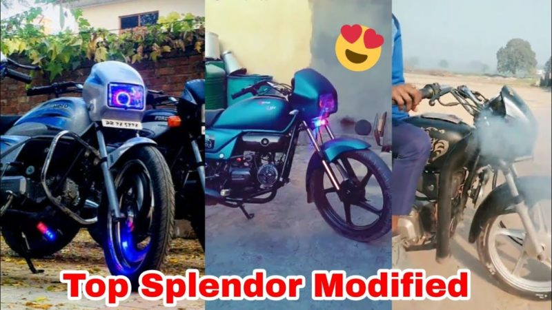 Top New Modified Splendor Plus Bike 2020 |Splendor Modify |fh modified