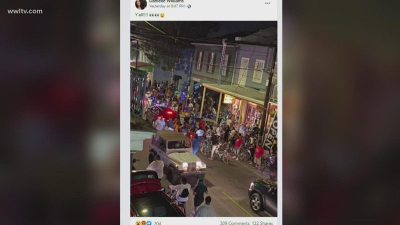 New Orleans bike group cancels events after hundreds ride down Magazine St