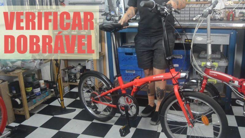 O que verificar em bike dobrável