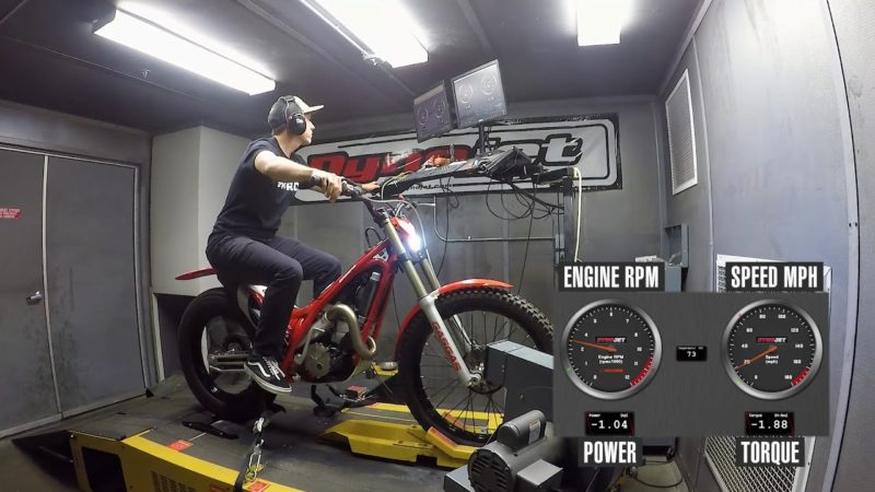 How Much Power Does A Trials Bike Make?