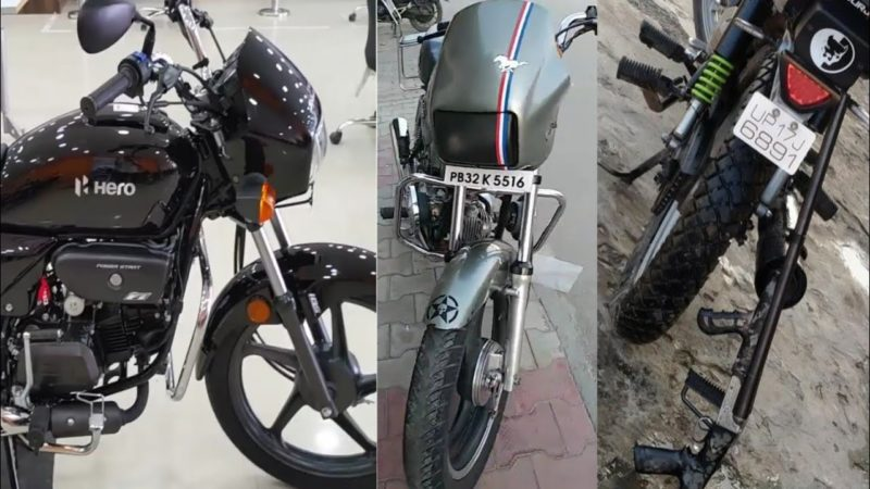 Newly Modified Hero Splendor Plus Bs6 Bike In Punjab | Splendor Modify
