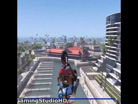 GTA 5 bike  Ride Jumping