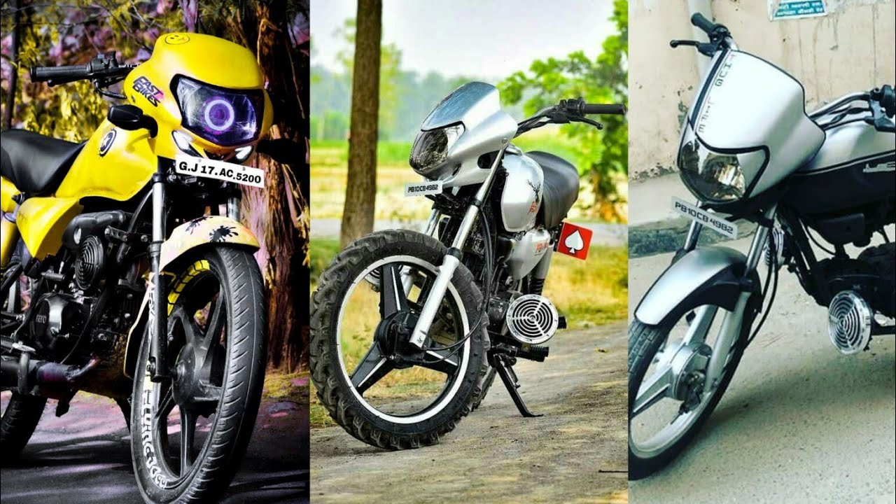 Newly Modified Hero Hf Deluxe Bike Top Modes & Wraps