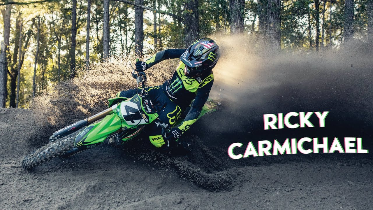 Ricky Carmichael Gets Off the Couch – NEW BIKE
