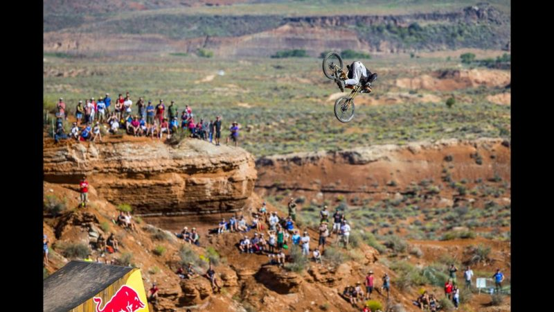 Biggest Attempted Front Flip in Mountain Bike History